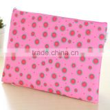 Promotion cheap watermelon print polyester A4 document bag china supplier