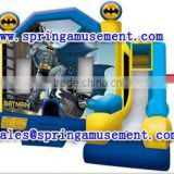 Latest design and cheap inflatable BATMAN combo, inflatable jumping castle, inflatable slip and slide