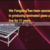New Designed Fangding glass combine table used for the combine the laminated glass with EVA film