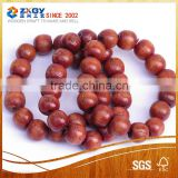 Hot sale art craft 15mm 18mm custom cheap wood beads for necklace
