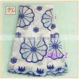 2015 latest new design high quality embroidered swiss cotton lace fabric/polyester appliques lace