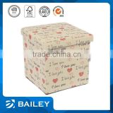 non woven folding storage boxes/new decorative wooden storage boxes/foldable storage box with seat