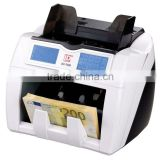 LCD Paper Sheet Counting Machine For EURO USD etc
