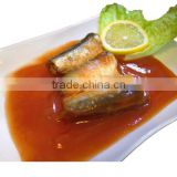 155g Canned Sardine in Tomato Sauce(WW-155) Wholesale best fresh sardine material manufacturer price