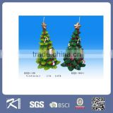 china wholesale paraffin wax christmas tree shaped christmas candle decoration gift for christmas