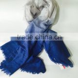 2015 new design fashion Gradient scarf
