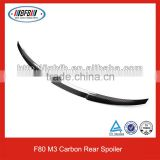 NEW!!! Auot Rear Spoiler Carbon Fiber M3 Spoiler For BMW F80 Car Spoilers