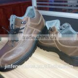 industrial cheap workman's steel toe brand stylish PU/rubber outsole leather safety shoes CE SB/SBP/S1/S1P/S3