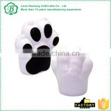 PU Material Animal Paw Squeeze Toy For Promotion