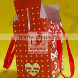Cardboard rigid paper cosmetics gift set packaging box