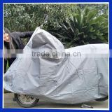 Silvery polyester waterp motorcycle body cover