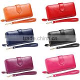 Woman Luxury Coin Purse Ladies Leather Wallets Long Cards Holder