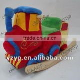 new the best wooden rocker Plush train baby rocking horse