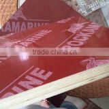 film faced construction plywood red phenolic resin Impregnated paper