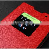 Best Sales New Arrival Scratch-proof Real Leather Mobile Cover for Blackberry Priv Cellphone Sleeve Phone Case Skin