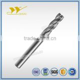 4 Flute Variable Helix with Chamfer Solid Carbide End Mills for Stainless Steel High Efficiency Milling