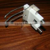 Hot sale manufacturer wholesale gas stove and burner spark ceramic ignition electrodes with ignition leads