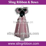 18 inch Ballerina Tutu Bow Holder with tails