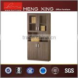 China traditional bookshelf with glass doors/file cabinet/bookcase HX-FL0045