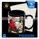 Yesion Water Decal Transfer Paper/ White&Clear Water Transfer Paper Used for Glass, Crystal, Metal, Mug etc