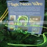 KPT electroluminescent el wire for making toys glowing