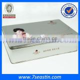 top grade cosmetic set packaging tin can& gift tinplate cosmetic box manufacturer