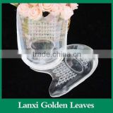Soft gel custom orthotic Heel Pads arch relief heel cushion shoe pad