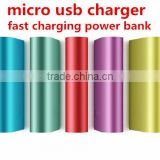 Micro usb charger 10000mah Xiaomi power bank fast charging power bank 4800MAH 6000MAH 8000MAH 10400MAH