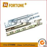 CT3006 30MM Heavy Duty Full Extension Soft Closing Glide Ball Bearing Drawer Slide For Furniture Hardware