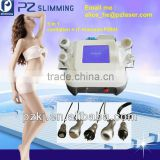 worthy to buy for your salon ! ultrasonic cavitation rf vacuum equipment pz804 for fat loss .