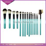 2015 New cosmetics products 15pcs paint brush makeup brushes free samples with brush bag