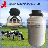 2-100L liquid nitrogen dewar medico veterinario cattle semen storage and embryo transfer containers