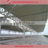 Railway station waiting hall steel structure roof cover