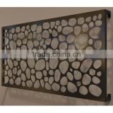 INQUIRY ABOUT Laser Cut Aluminium Decorative Interior Corrugated Metal Wall Cladding Panels