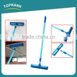 Toprank Multi-function Floor TPR Mop Squeegee Telescopic Pole Window Squeegee Mop With Iron Handle