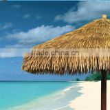 2015 new synthetic thatch roof with umbrella shape ,artificial thatch roof with high quality