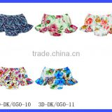 Wholesale Boutique Bloomers Beach Shorts For Kids Floral Bloomer With Swing