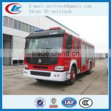 high performance 4x2 266hp 8cbm cheap rescue fire truck for sale