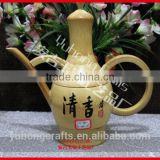 Top quality Bamboo craft Bamboo Tea Sets Bamboo teapot