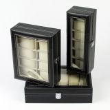 Leatherette Jewelry Collection Watch Display Box Jewellery Case