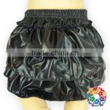 2015 Lovely Fashion Baby Girls Pure Black Sequin Layers Panties Shorts Pattern Baby Diaper Nappy Cover Bloomers
