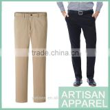 New Design Casual Solid Color Cotton Pants For Men 2015 Men's Trousers Accept Your Logo