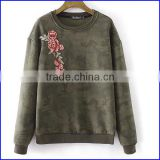 OEM big wholesale new style hoodies women cheap round neck t shirt ladies fashion clothing