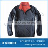 SPT-GS1314 bonded fleece mens softshell jacket, waterproof mens softshell jacket, mens softshell jacket