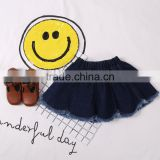 S16253A 2017 Baby Kids Cute Skirts Girls Denim Skirt