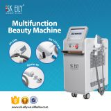 2017 multi function beauty machine OPT ND YAG laser RF 3 handle shr ipl