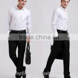 Manufacturer various color red, white ,black , navy blue brand name men dress shirts