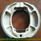 Motorcycle brake shoe for Honda Hunk,weightness of 230g