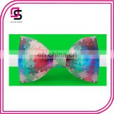 2014 Colorful Mosaic Bow Tie Fashion Geometry Bow Tie Colorful Bow Tie