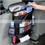 Car seat back insulation organizer with cooler bag#SB0022A